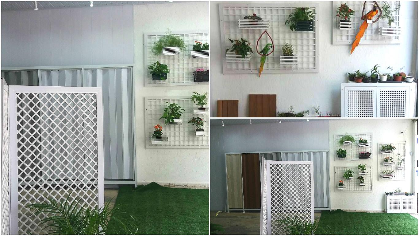 Soluções para ter area verde mesmo em ambientes pequenos
